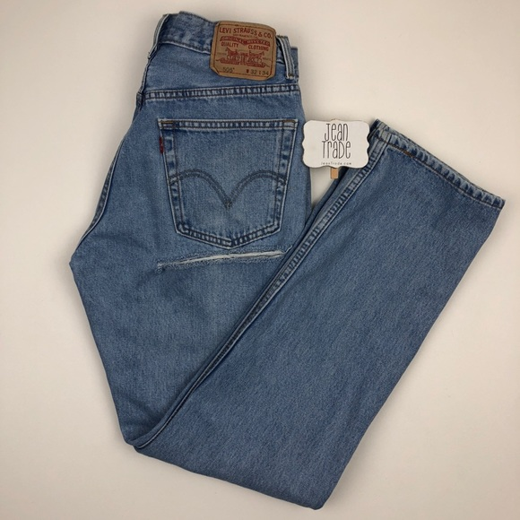 Levi's Denim - Levi's 505 Butt Rip jeans